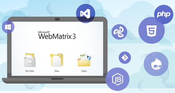 Webmatrix 3 Loggo
